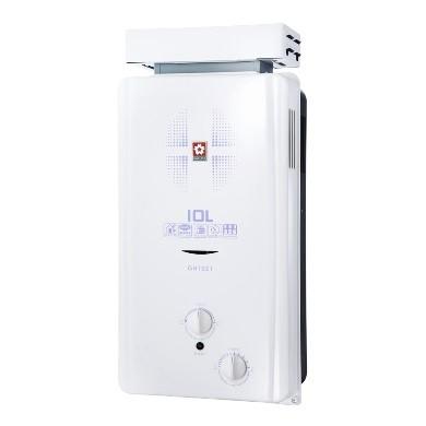 櫻花 GH1021 10L屋外抗風型熱水器