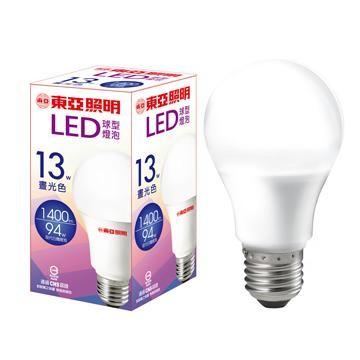 東亞 13W LED燈泡