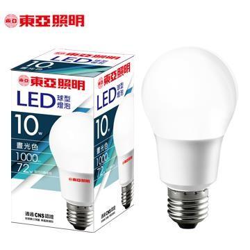 東亞 10W LED燈泡