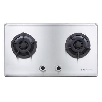 櫻花 G2522S 二口小面板易清檯面爐 瓦斯爐