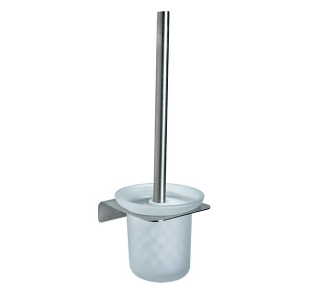 京典 AS2008 免鑽孔馬桶刷架組 免鑽牆馬桶刷架組 無痕馬桶刷架組