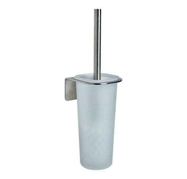 京典 AS3008 免鑽孔馬桶刷架組 免鑽牆馬桶刷架組 無痕馬桶刷架組