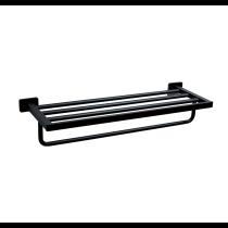 京典 AS6009 工業風 爵士黑置物架 置衣架