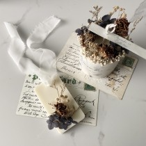 Remember me 乾燥花香氛蠟燭+乾燥花香氛蠟片禮盒