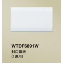 國際 DECO LITE星光系列 WTDF6891W 一聯封口蓋板